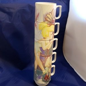 Disney's Tinkerbell stack coffee cups